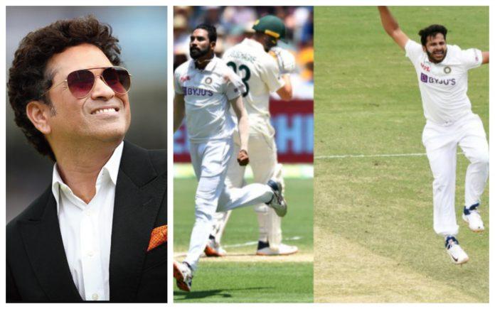 Sachin praises Siraj and Thakur for their impressive performance in 4th Test vs Australia