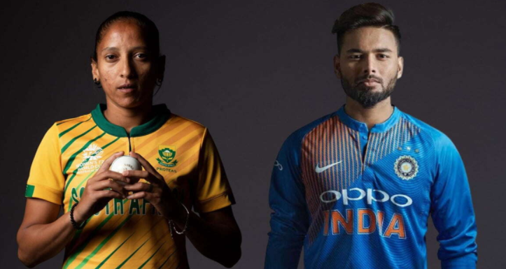 Shabnim Ismail(SOuth Africa) rishabh pant(India) bags ICC player of the month awards