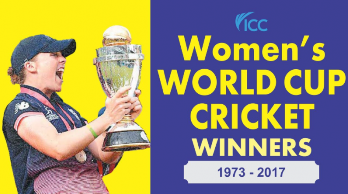 Women's cricket World Cup winners list