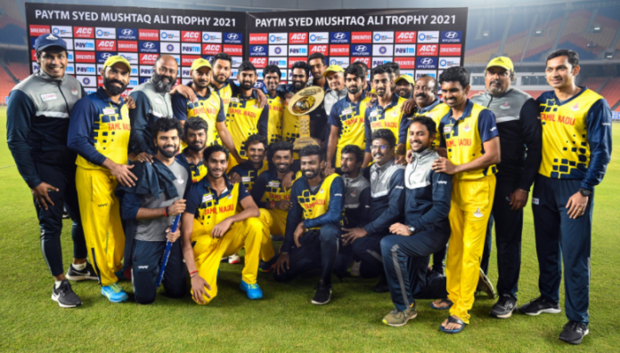 Tamil Nadu wins 2021 Mushtaq Ali Trophy