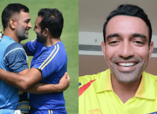 Dhoni express his feelings to lay under MS Dhoni