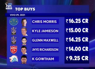 Kyle Jamison and Maxwell - IPL Auction 2021
