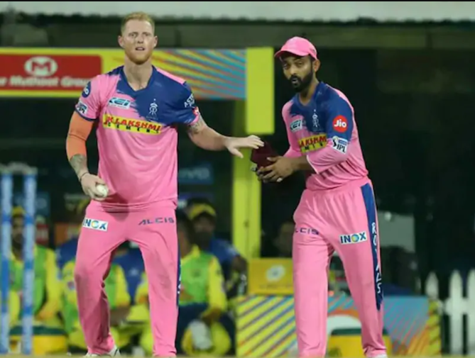 Rahane and Ben Stokes plays for Rajasthan Royals in IPL