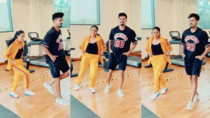 Shreyas Iyer Dhanashree Dancing video
