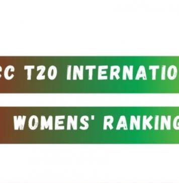 ICC women's T20I team ranking