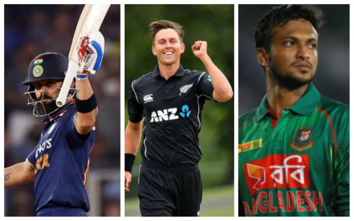 Top 10 ODI batsman, bowlers and all-rounders ranking