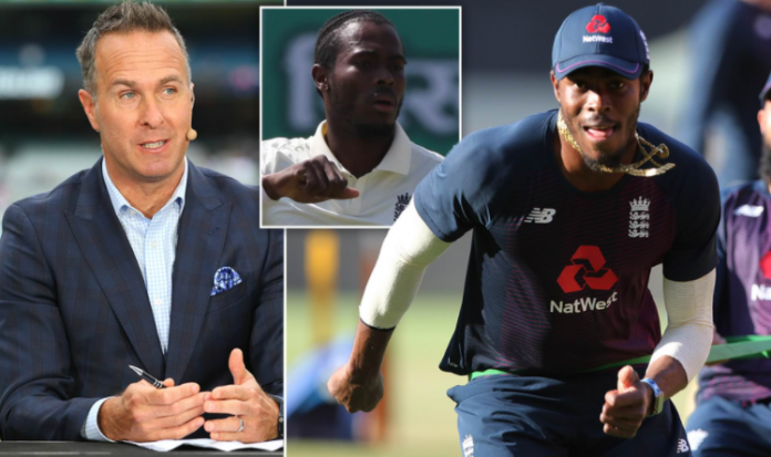 Jofra Archer takes aim at former skipper Michael Vaughan after commitment questioned