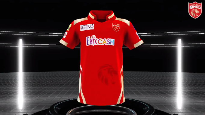 Punjab Kings introduced their new jersey ahead of IPL 2021