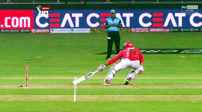 Punjab Kings vs Delhi Capitals game in which a wrong Short Run call by the square-leg umpire proved costly for the Punjab side.