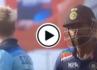 Hardik Pandya and Sam Curran gets in heated arguments