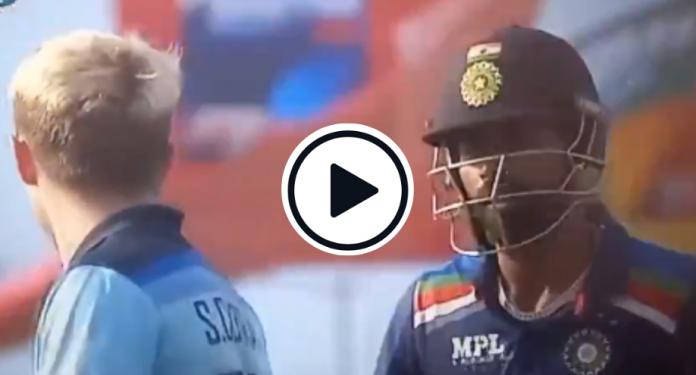 Hardik Pandya and Sam Curran gets in heated arguments