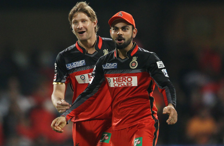 Shane Watson plays for RCB in 2017 and 2017 IPL seasons