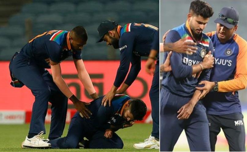 Shreyas Iyer injured in 1st ODI vs England