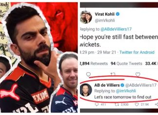 Virat Kohli, ABD and Padikkal gets in friendly race