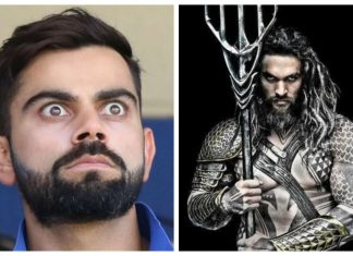 Virat Kohli portrayed as Aquaman in ICC version of Justice League