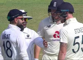 Virat Kohli and Ben Stokes gets into banter in the first day of the 4th Test match