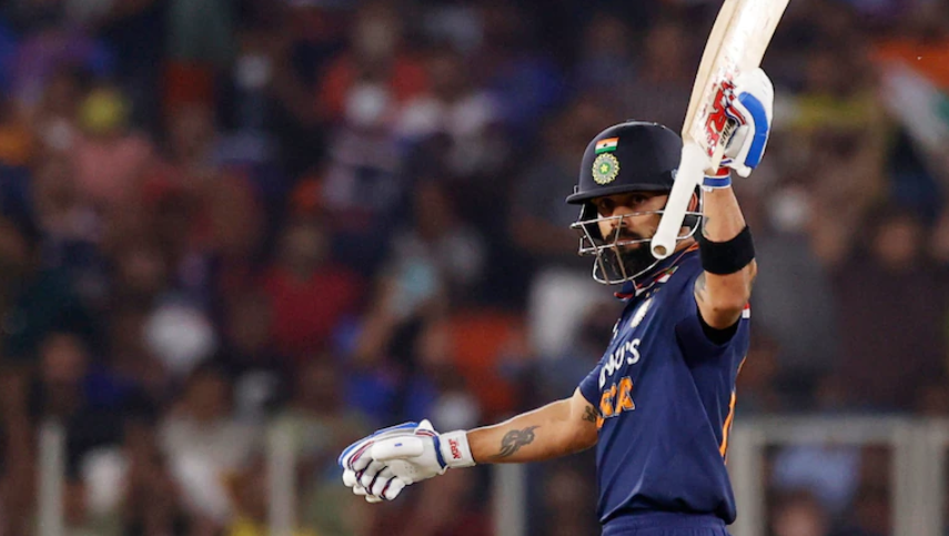 Virat Kohli scored 73 runs against England in 2nd T20I