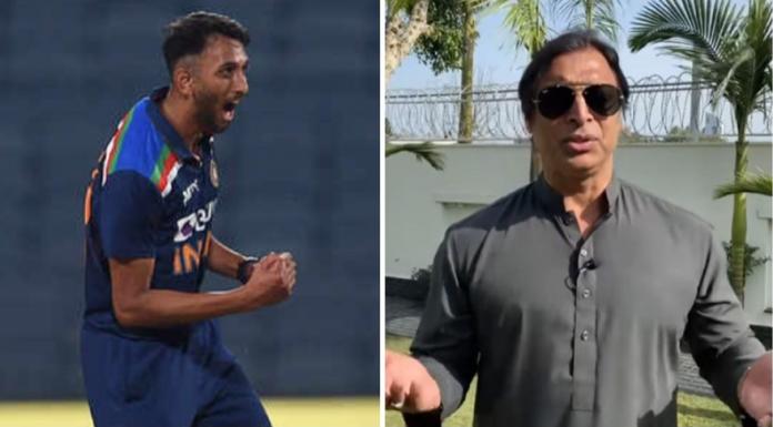 Shoaib Akhtar heaps praise on Prasidh Krishna after impressive ODI debut