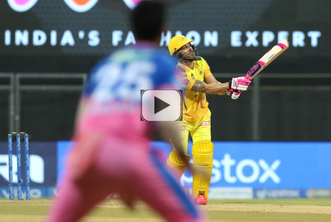 CSK won the 12th league match of IPL 2021 by beating RR by 45 runs