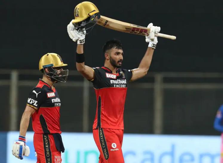 Devdutt Padikkal slammed his maiden IPL 2021 century