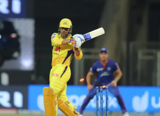 MS Dhoni dismissed for duck against DC in IPL 2021