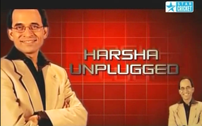 "Harsha Bhogle hosted ""Harsha Unplugged"" for Star Network"