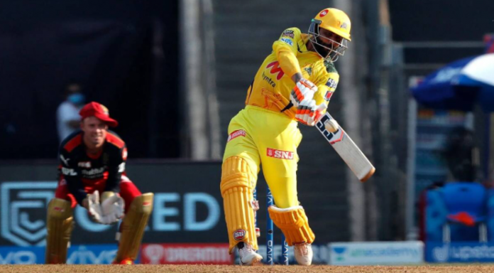 Jadeja smashed 37 runs off an over bowled by Harshal Patel in CSK vs RCB league match of IPL 2021