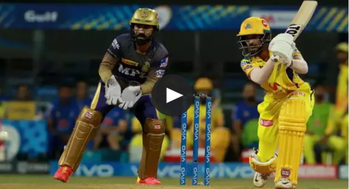 CSK bags the the third victory by beating KKR by 18 runs
