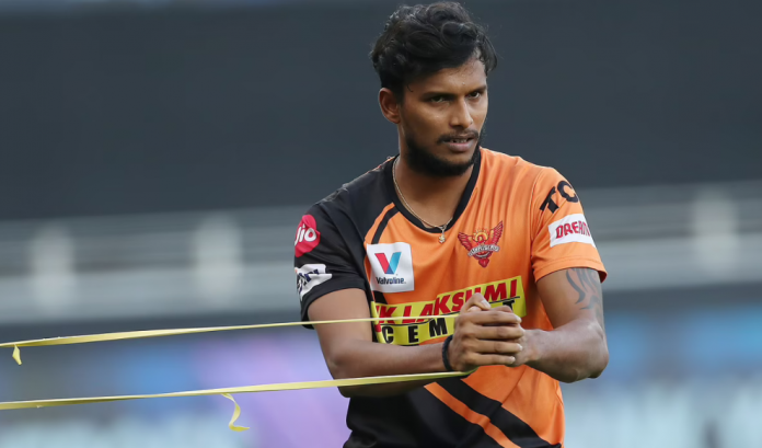SRH Pacer T Natarajan has been ruled out of IPL 2021