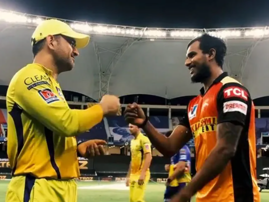 T NAtarajan recalls the conversation with MS Dhoni during an IPL league match