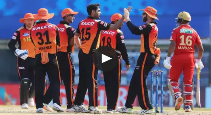 Sunrisers Hyderabad bags their first victory of IPL 2021 by beating PBKS by 9 wickets