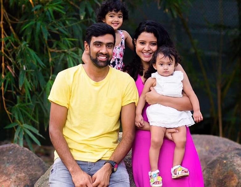 R Ashwin Family