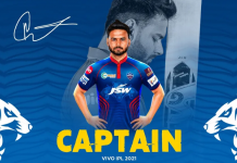 Delhi Capitals appoints Rishabh Pant as their skipper for IPL 2021