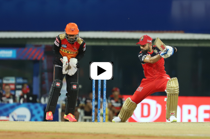 RCB beats SRH by 6 runs and registers the second victory of the IPL 2021