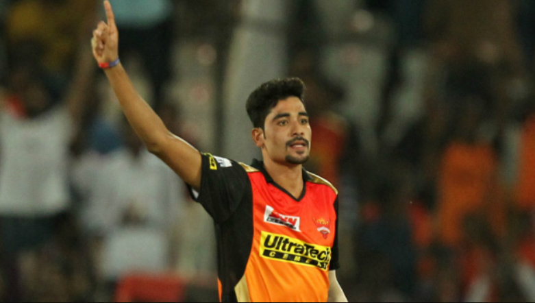 Siraj was bought by the Sunrisers Hyderabad team for the 2017 Indian Premier League for 2.6 crores.