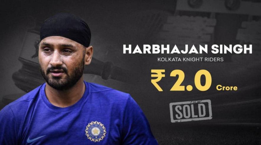 Harbhajan Singh roped by KKR in IPL 2021 Auction