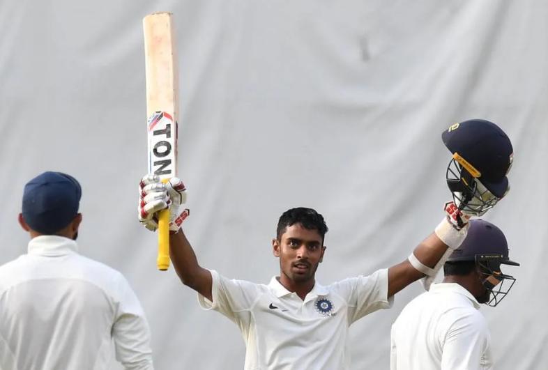 Abhimanyu Easwaran scored his first double ton against Punjab