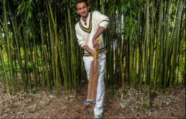 Bamboo cricket bat