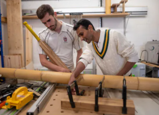 The Marylebone Cricket Club (MCC) says cricket bats are made of Bamboo are illegal