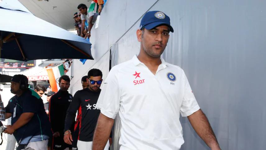 Dhoni announces test retirement on December 30, 2014