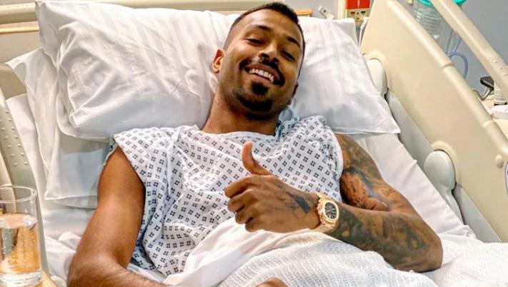 Hardik Pandya underwent a surgery acute lower-back injury