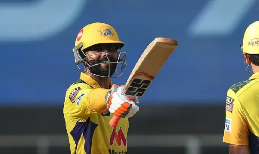 Jadeja smashed 37 runs off the finals over bowled by Harshal Patel in a league match of IPL 2021
