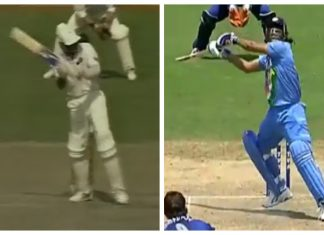 Mohammad Azharuddin played Helicopter Shot before MS Dhoni