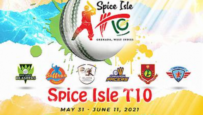 Spice Isle T10 2021 Squad and Schedule