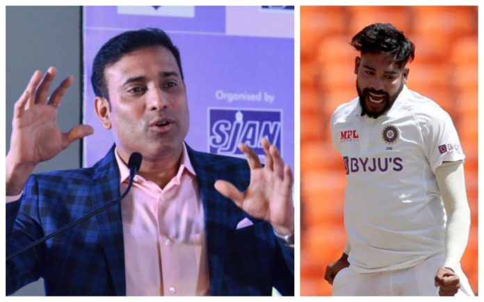 VVS Laxman praised Siraj for his ability and Stamina