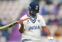 Rishabh Pant dismissed for 4 runs in WTC 2021 finals