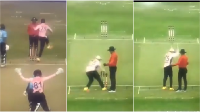 Shakib Al Hasan Kicks and Throws Stumps After Arguing With Umpire