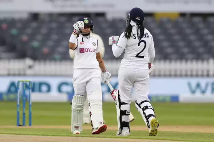 Sneh Rana and Taniya Bhatia made a 81 run-stand in the final day of the ENG vs IND Test