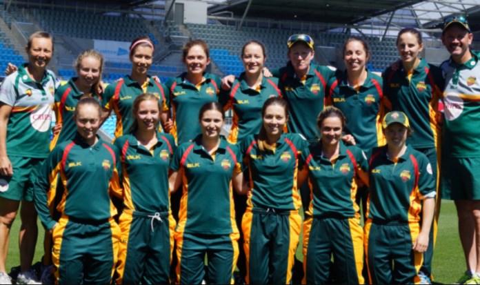 Tasmania women's 2021-22 team