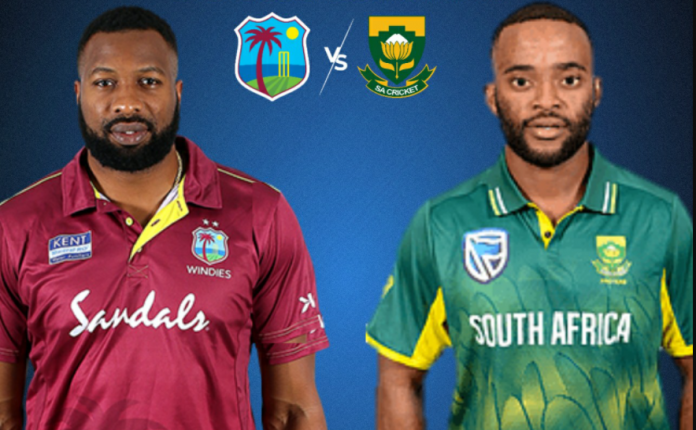 West Indies vs South Africa 2021 T20 schedule